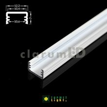 LED profile SLIM8 A/Z 1000 white painted