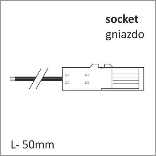 MINI CONNECTOR 50 mm SOCKET