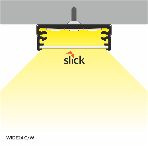 WIDE LED PROFILE